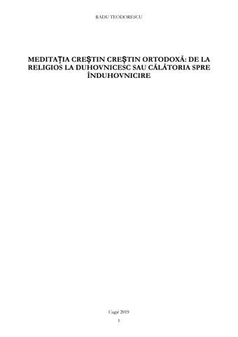 meditație de restaurare comună)