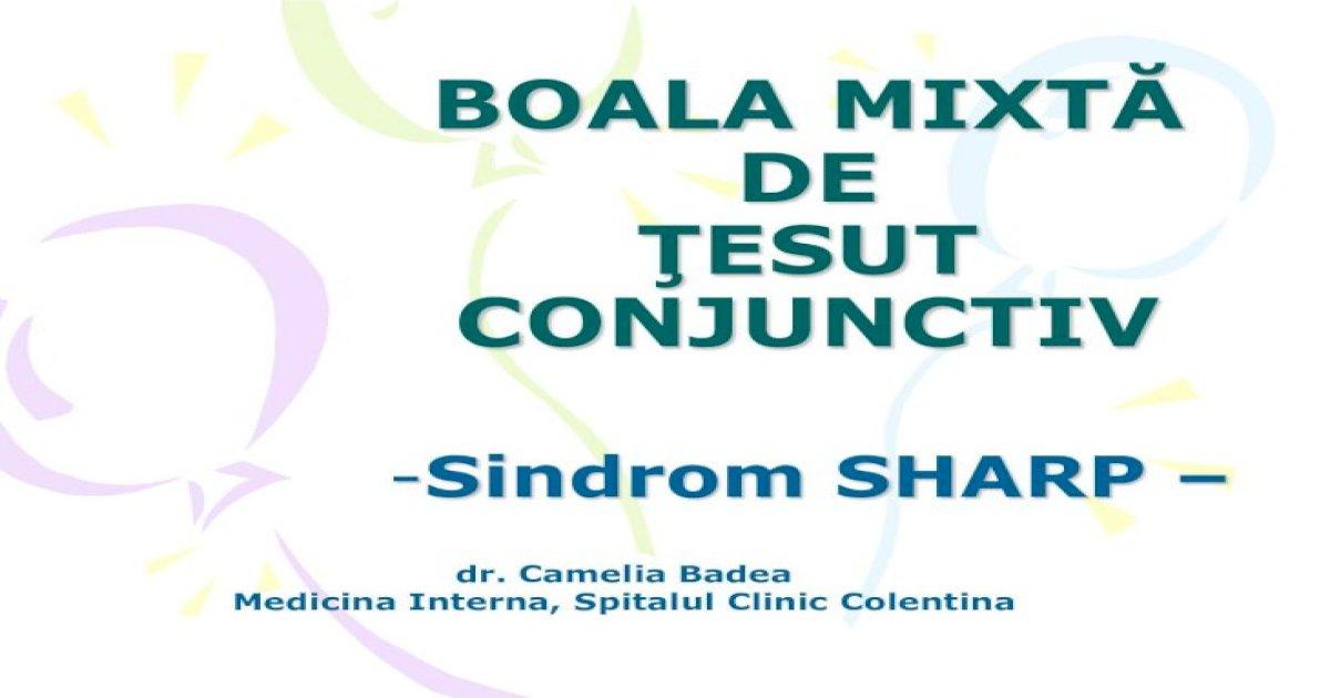 boala țesutului conjunctiv ce este)