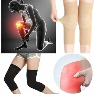 Maneca de compresie elastica articulare genunchi sporturi genunchiere - gri
