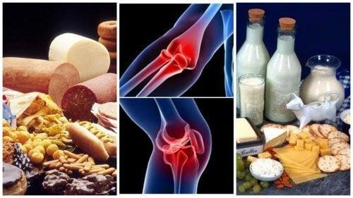 alimente interzise pentru dureri articulare)