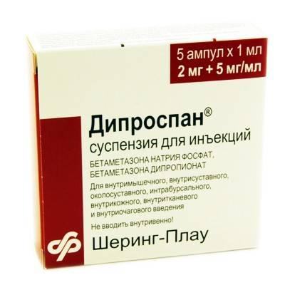 recenzii diprospan pentru dureri articulare)