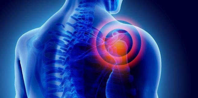 durere palpitantă în articulația umărului