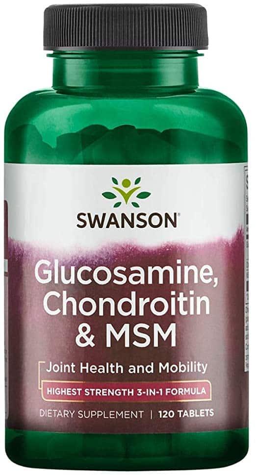 glucozamină naturală și condroitină articulațiile rănesc genunchii apoi coada