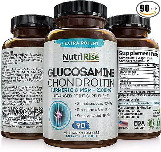 glucozamine și condroitine)