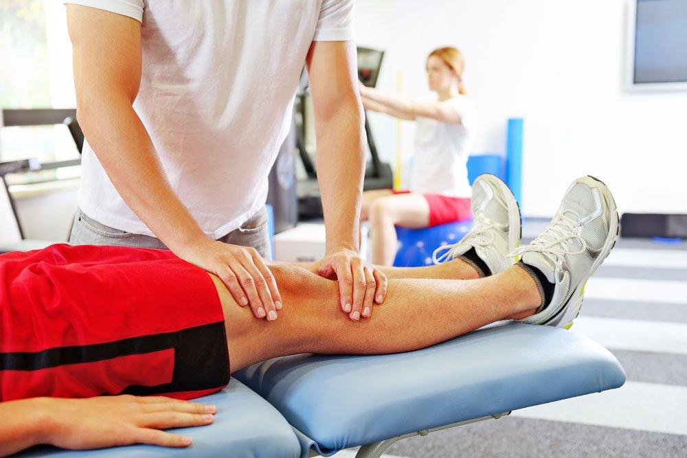 dureri musculare sub genunchi