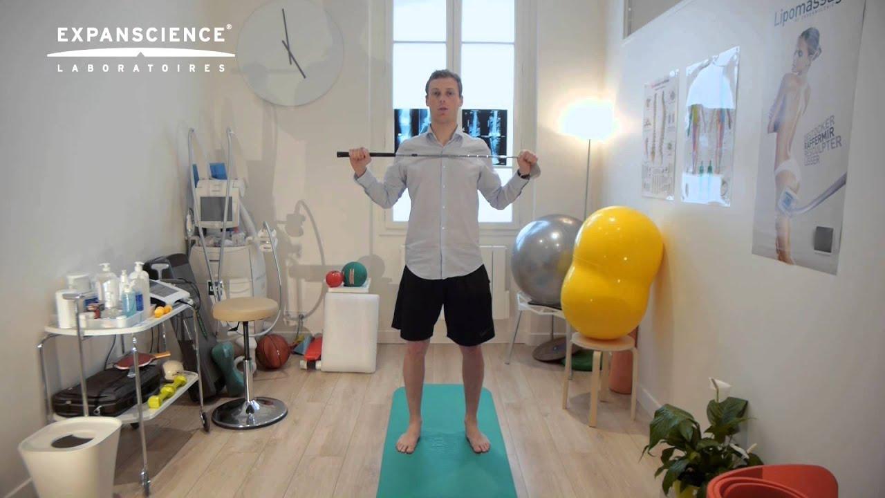 un set de exerciții pentru tratamentul artrozei)