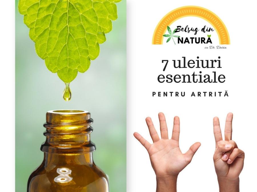 tratamentul inflamației articulare cu uleiuri esențiale)