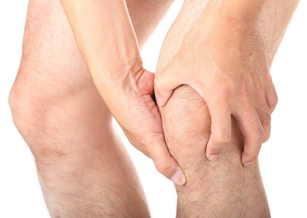 bandaj pe articulația genunchiului pentru durere)