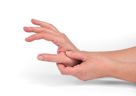 slăbiciune la nivelul mâinilor și dureri articulare)