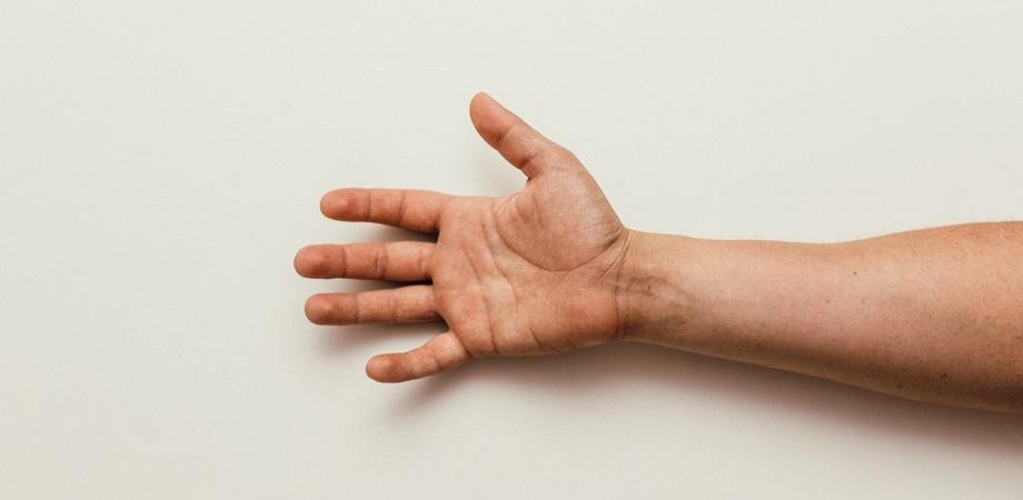 leziune la nivelul încheieturii mâinii)