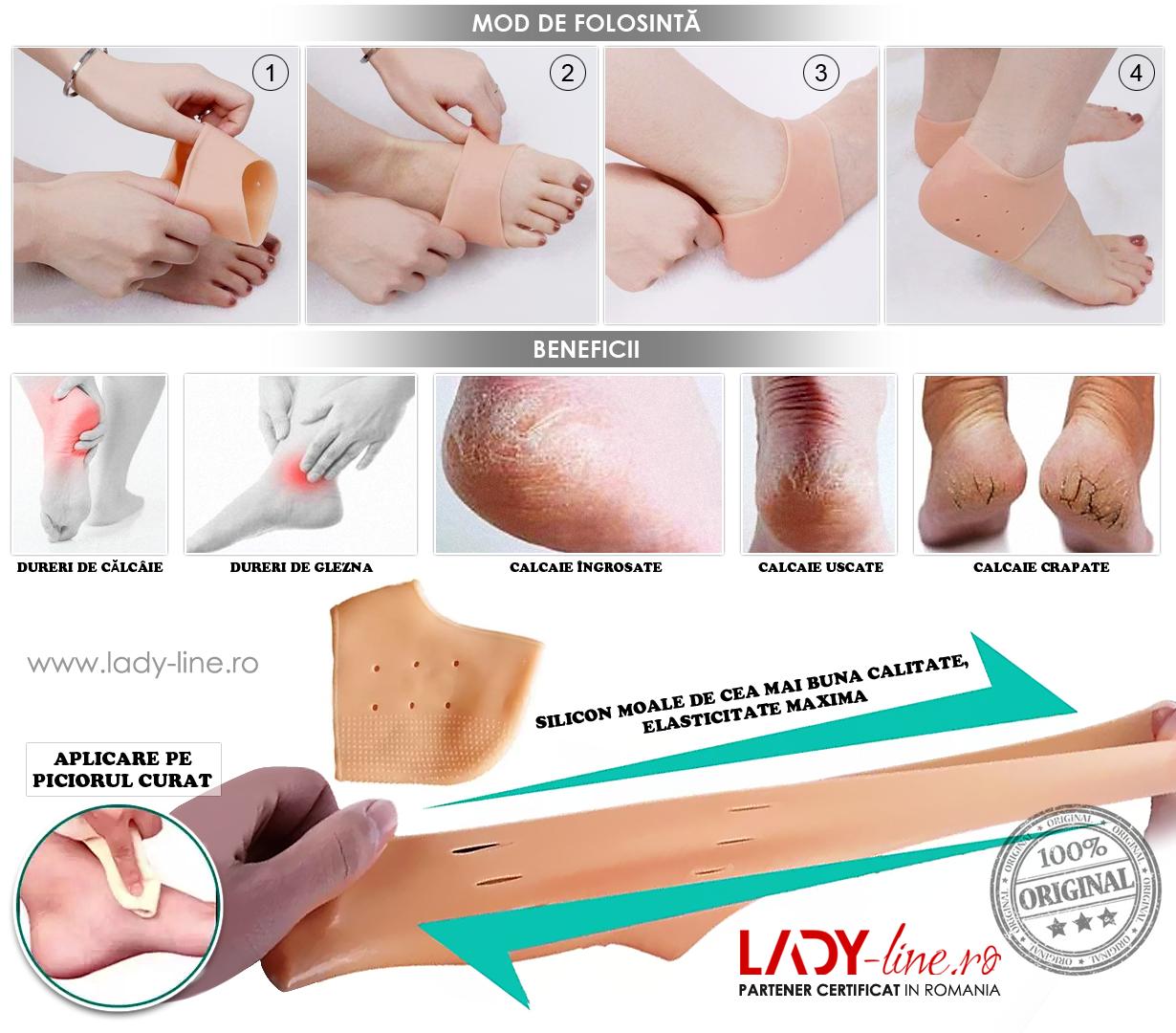 rănile articulațiilor picioarelor și călcâiele)