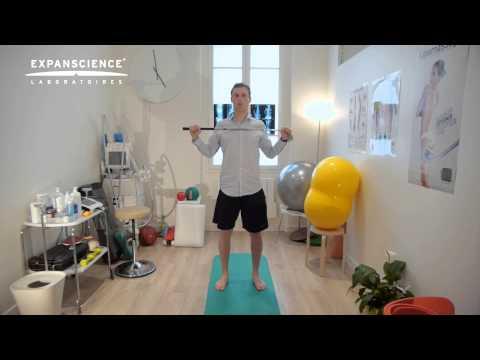 exerciții cu un expander pentru tratamentul artrozei)