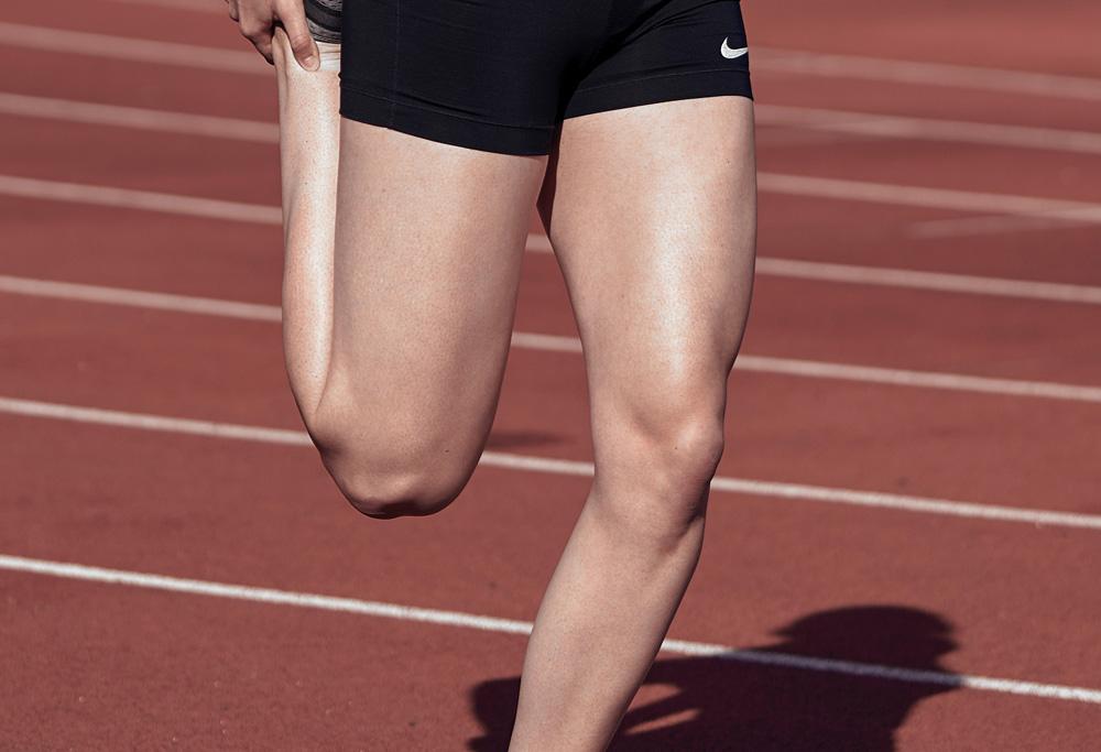 alergarea genunchiului)