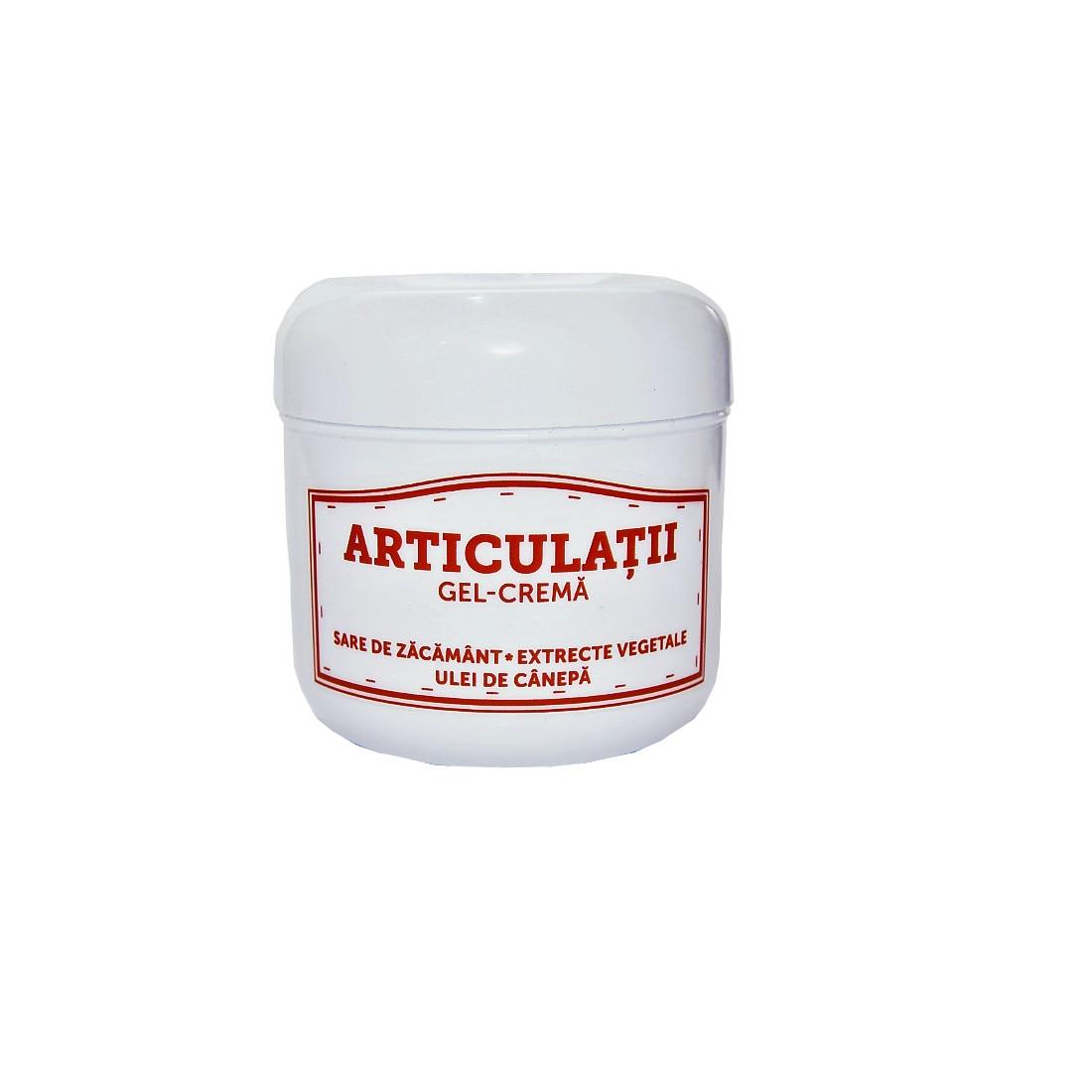 unguent gel pentru dureri articulare
