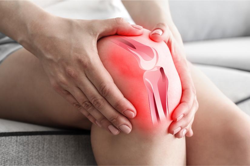 Este posibil să mergi cu inflamația genunchiului