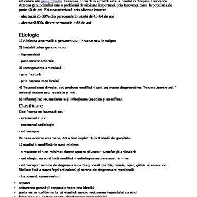 Totul despre gonartroza-cauze, stadii, tipuri, diagnostic si tratament | studioharry.ro