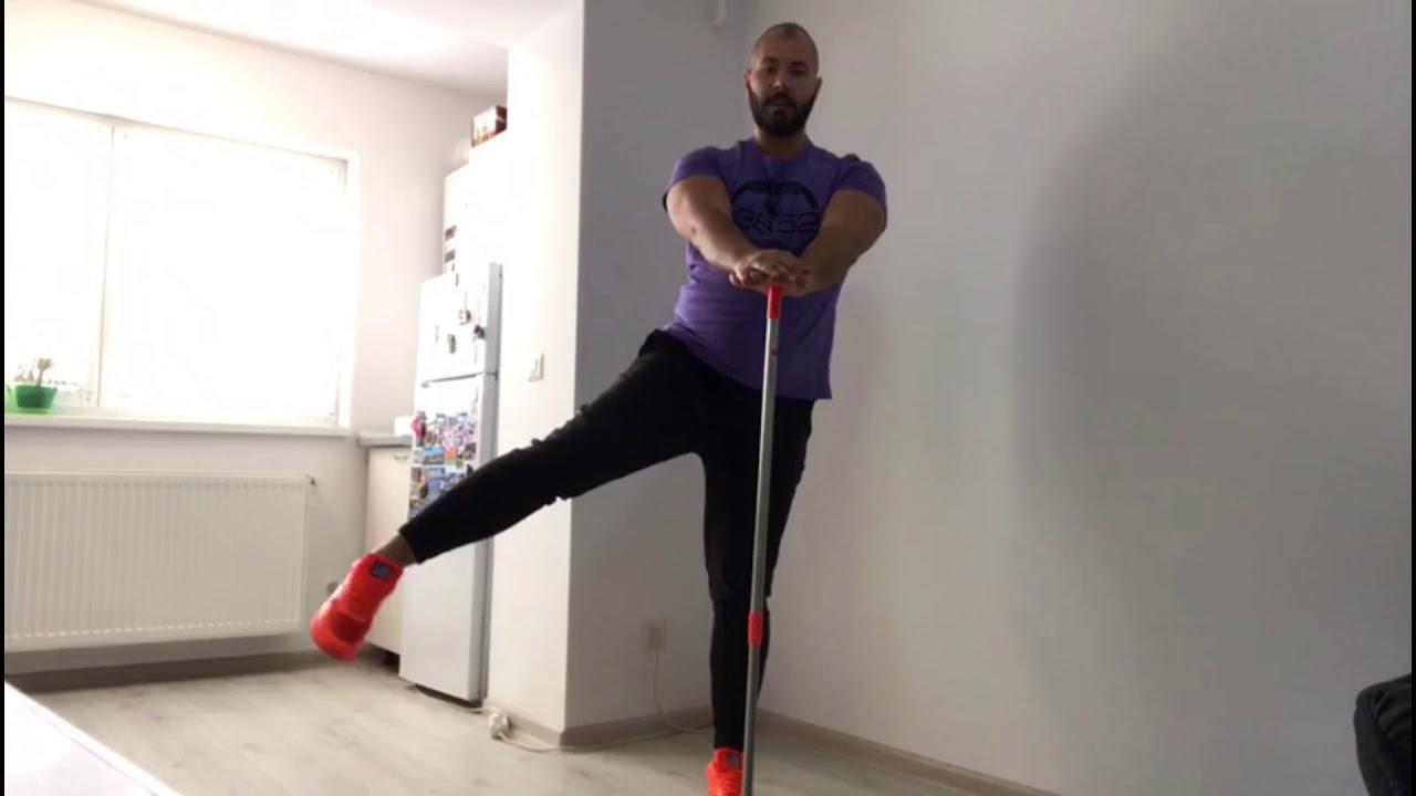 Un set de exerciții pentru coxartroza articulației șoldului conform lui Bubnovsky
