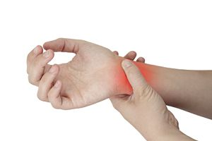 dureri la încheietura mâinii cu apăsări
