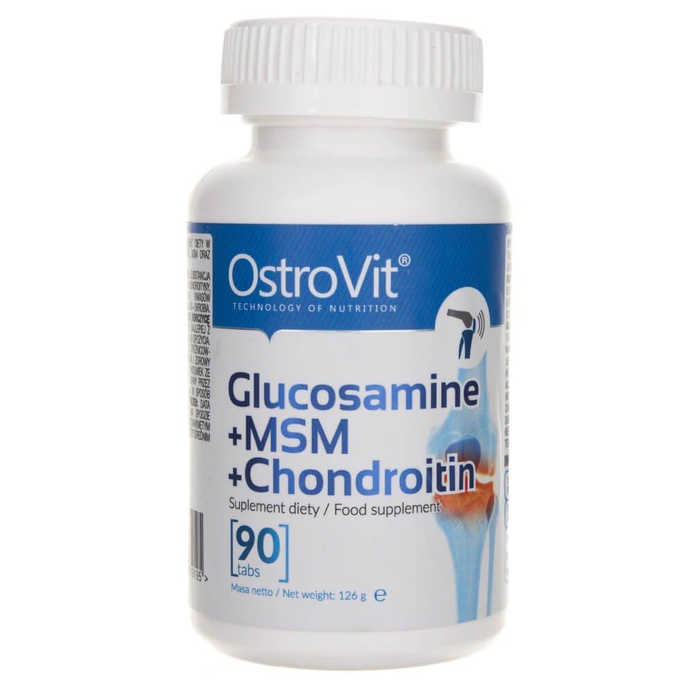comprimate cu glucozamină și condroitină)