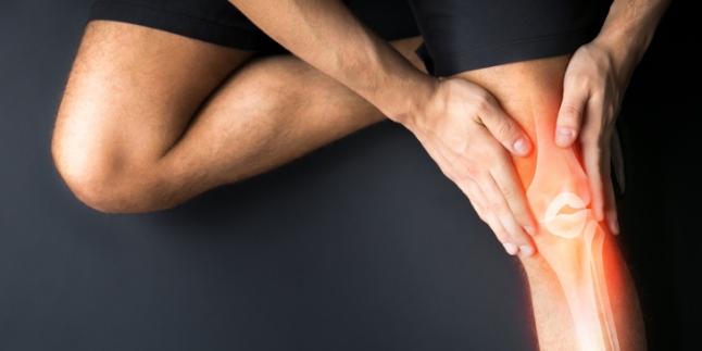 după o accidentare la genunchi, articulația doare
