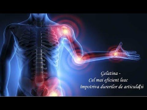 tratamentul cu gelatină pentru artrita artroză)