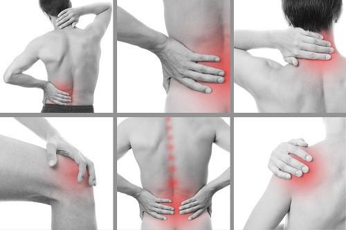 spatele și articulațiile sunt foarte dureroase