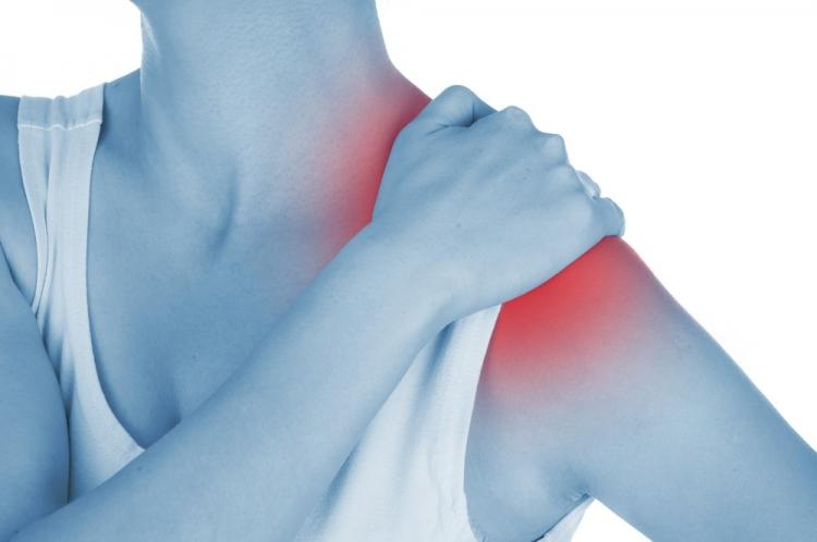 durere în articulațiile umărului la ridicare
