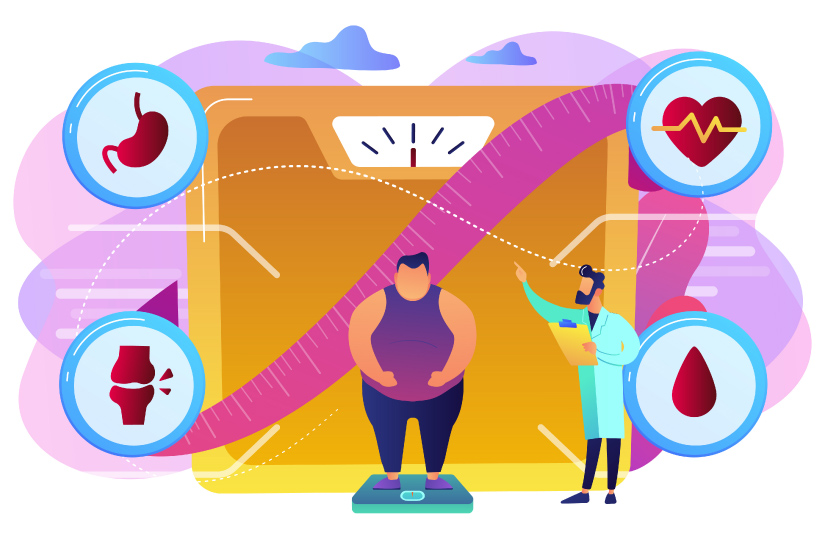 boli articulare și obezitate)