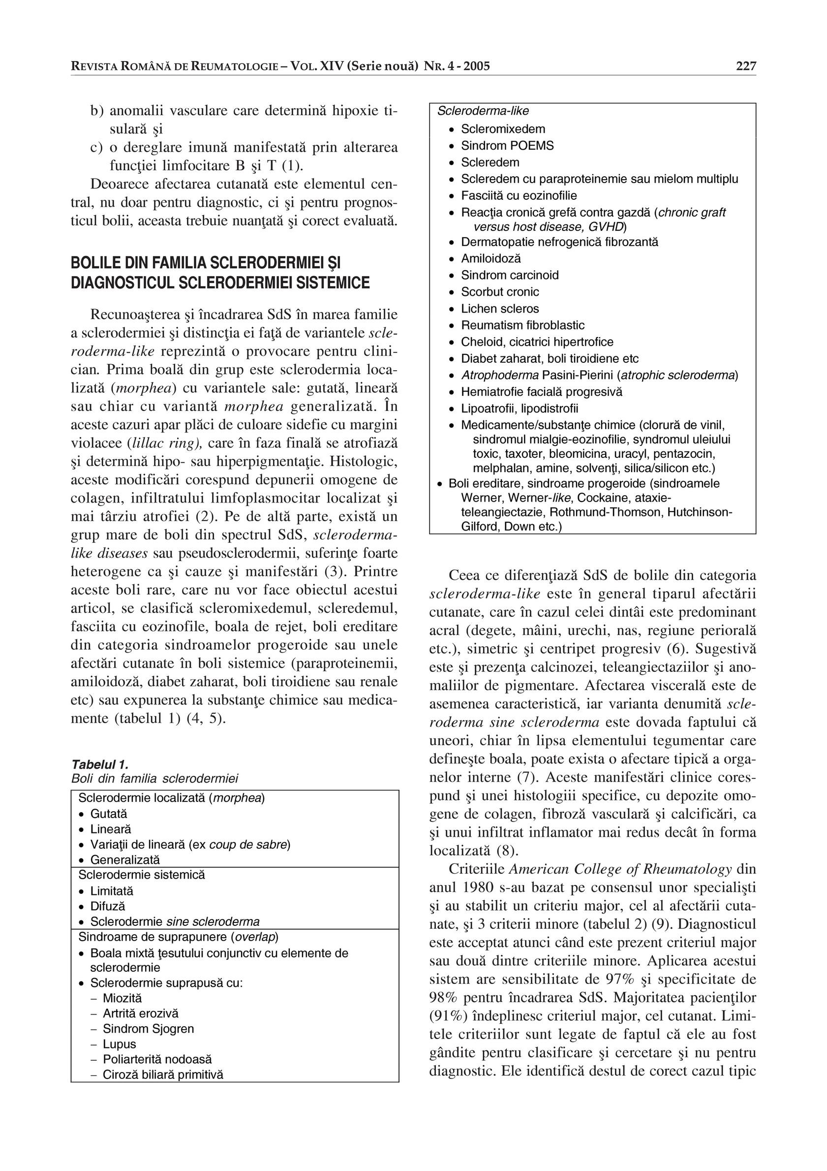 Boala țesutului conjunctiv - Connective tissue disease - studioharry.ro