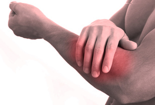 brațul stâng doare)