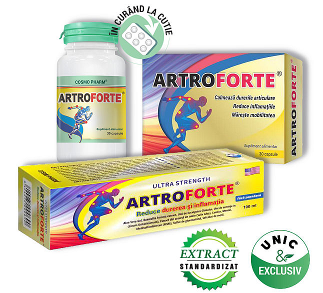 ArtroHelp Calm – pentru dureri articulare, 28 capsule