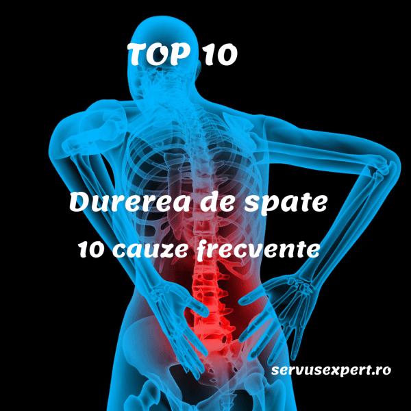 durere la nivelul coloanei vertebrale și al articulațiilor)