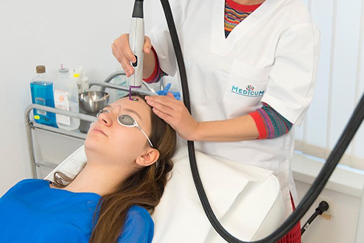 Terapie cu laser pentru artroza articulației umărului