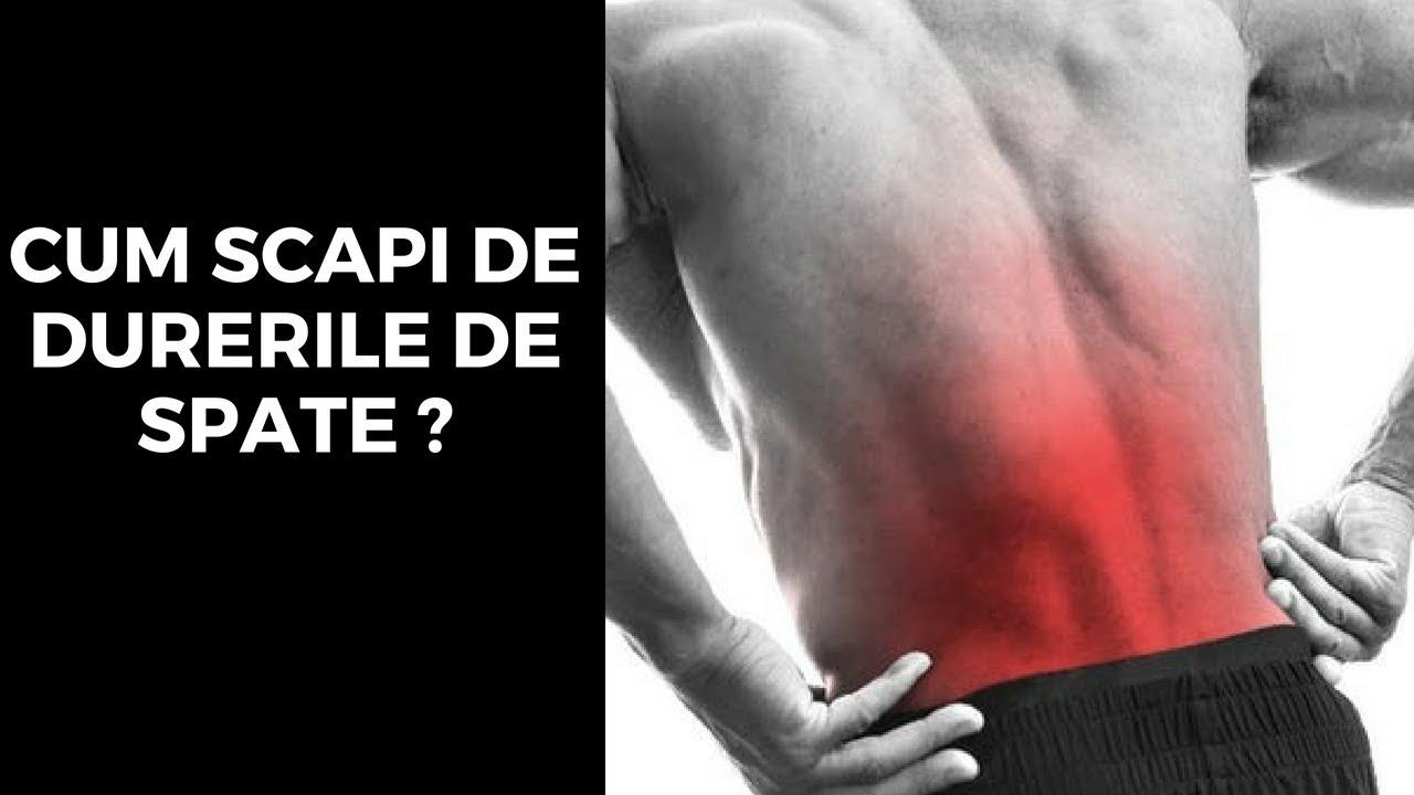 dureri de spate in zona lombara