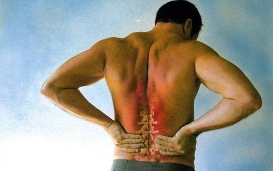 dureri in zona lombara spate
