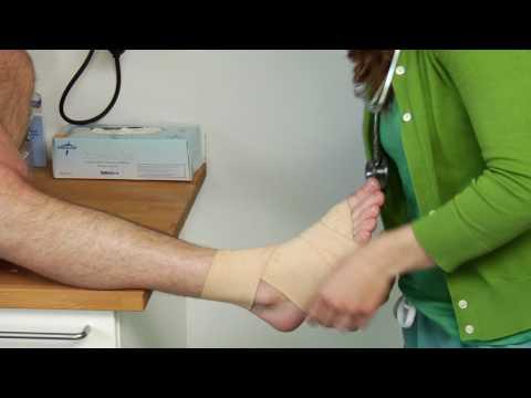prim ajutor pentru artroza articulației gleznei