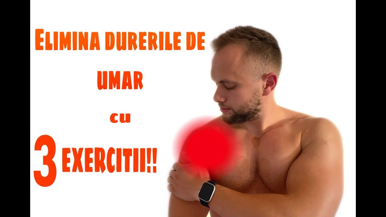 fizic exerciții pentru durerea articulației umărului)