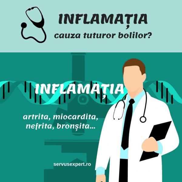 globule albe cu inflamație articulară)