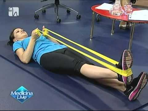 Exercitii pentru artroza - Sala de sport pentru artroza genunchiului