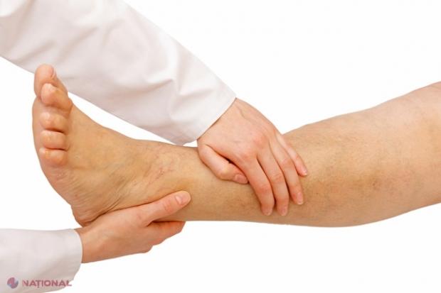 scuturându-mi picioarele rănesc articulațiile