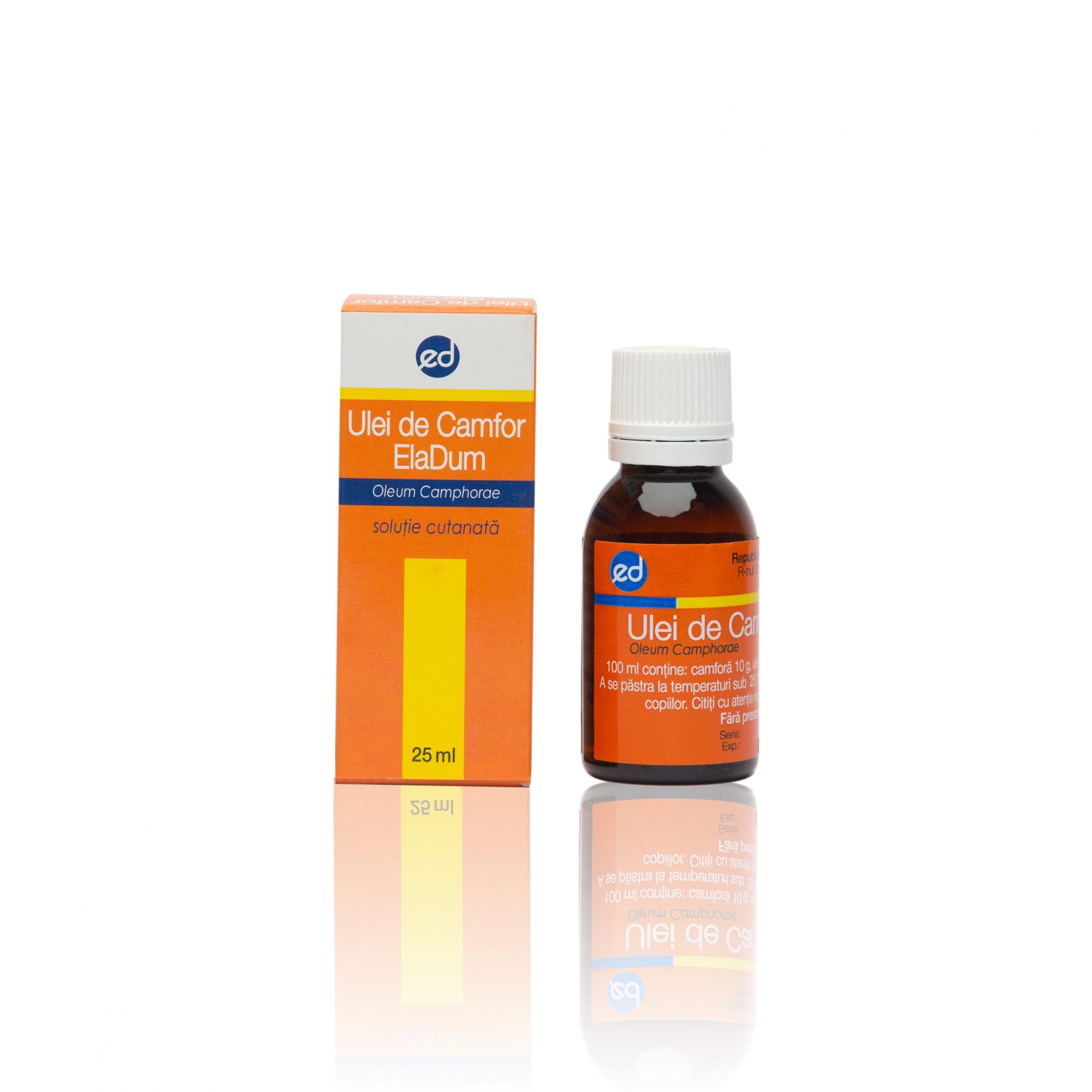 ulei de camfor pentru inflamarea articulațiilor