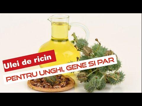 ulei de ricin pentru tratamentul artrozei)