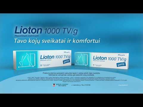 unguent de lioton pentru articulații