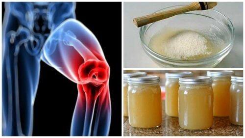 pentru dureri articulare bea gelatină pentru