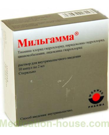 durere articulară milgamma compositum)