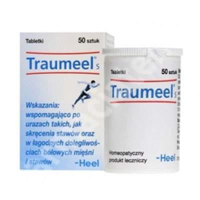 Traumeel S, 50 comprimate, Heel